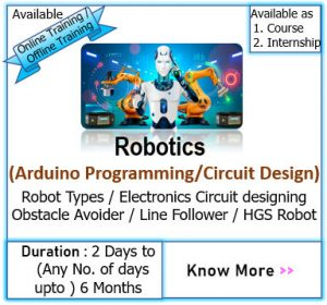 robotics internship